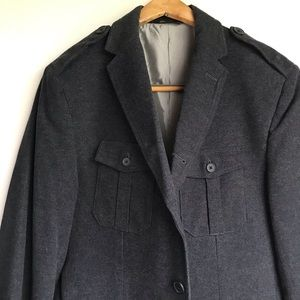 BANANA REPUBLIC military style pea coat